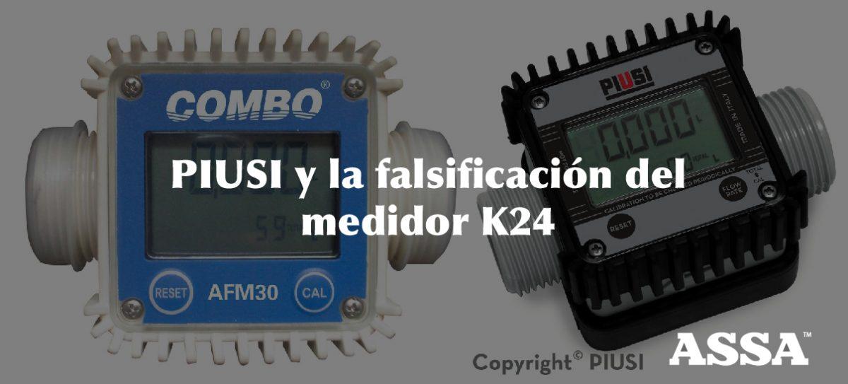 PIUSI y la falsificación del medidor K24-01