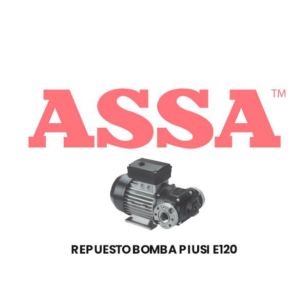 KIT BYPASS REPUESTO PARA BOMBA E120